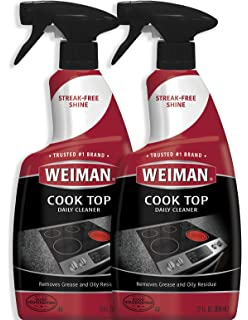 Amazon.com: Weiman Ceramic and Glass Cooktop Cleaner - 10 ...