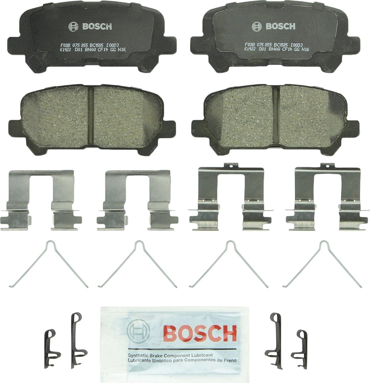 Foe MDX ZDX Odyssey Pilot Bosch QuiteCast Ceramic Rear Disc Brake Pads NEW