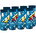 8-Count Gerber Graduates Puffs Banana and Strawberry Apple