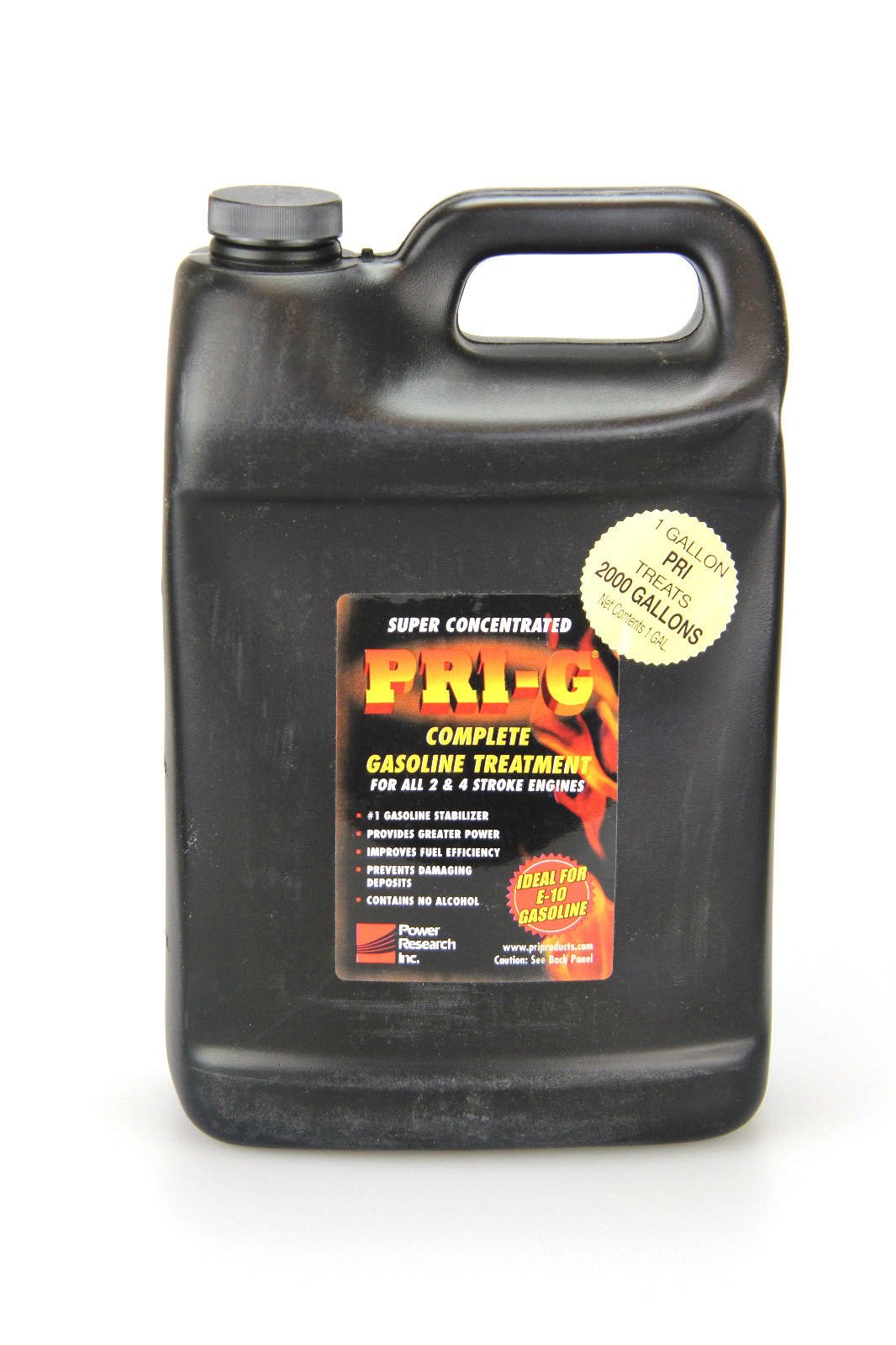 PRI-G Fuel Stabilizer- Gallon Size Unit Treats 2000 Gallons of Fuel by PRI
