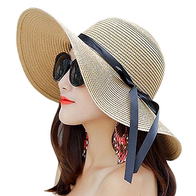 Amazon.com: orlasha para mujer sombrero de sol de verano ...