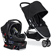Britax 2017 B Agile & B Safe 35 Elite Travel System, Domino