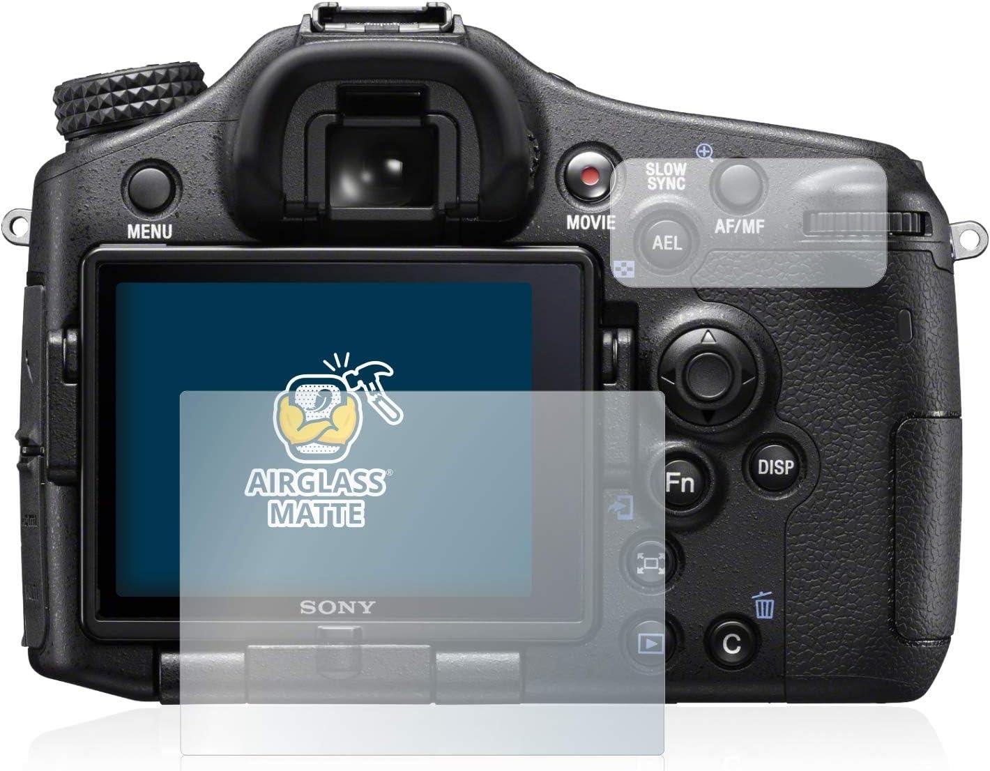 SLT-A77 II brotect Anti-Reflet Protection Ecran Verre Compatible avec Sony Alpha 77 II - Film Protecteur Vitre 9H Mat