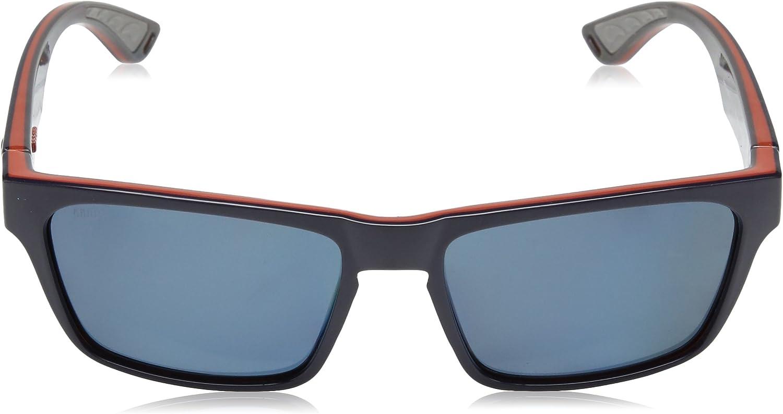 Costa Del Mar Hinano Sunglasses HNO-01-OBMP BlackoutBlue Mirror 580P Polarize