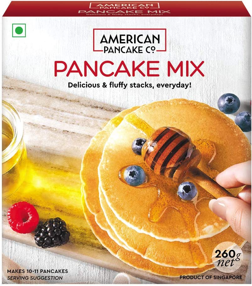American Pancake Co. � Eggless Pancake Mix for Breakfast (260g) (Pack of 1)
