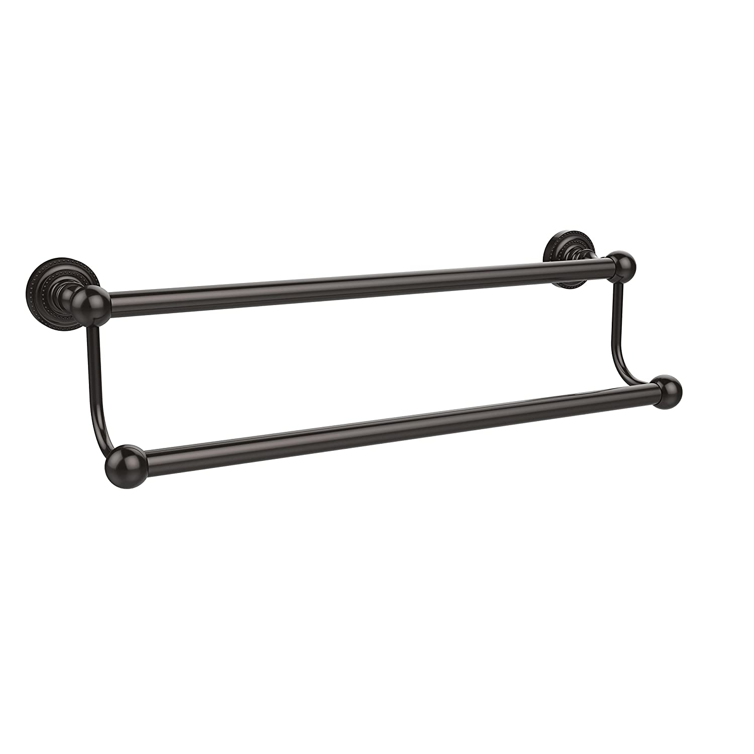 Allied Brass DT-72//24-ORB Dottingham Collection 24 Inch Double Towel Bar Oil Rubbed Bronze