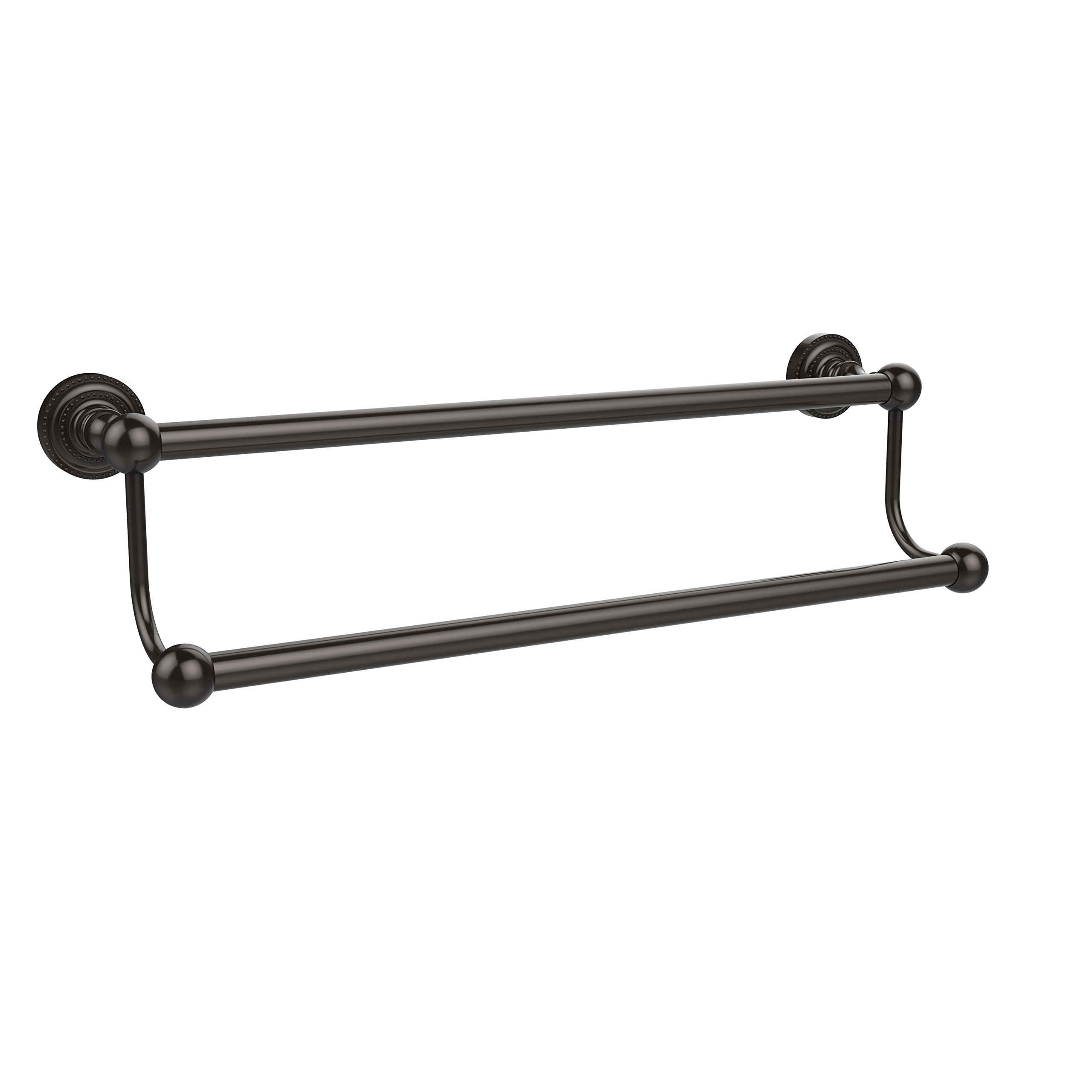 Allied Brass DT-72/30-ORB Dottingham Collection 30 Inch Double Towel Bar Oil Rubbed Bronze
