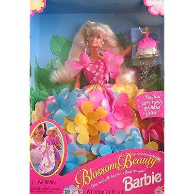 Barbie Blossom Beauty Doll w Magical Fairy Sprinkles Glitter (1996): Toys & Games