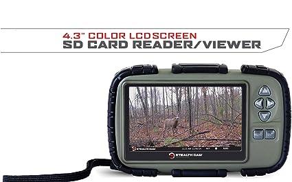 Stealth CAM SD Lector de Tarjetas y Visor con Pantalla LCD ...