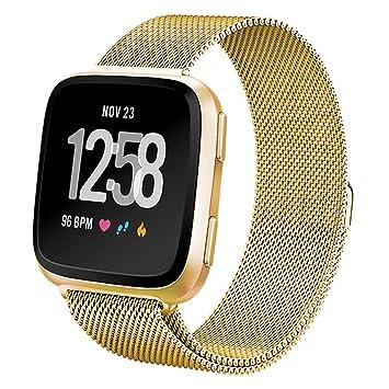 iBREK Fitbit Versa - Correa de repuesto para reloj inteligente Fitbit Versa, para mujer y