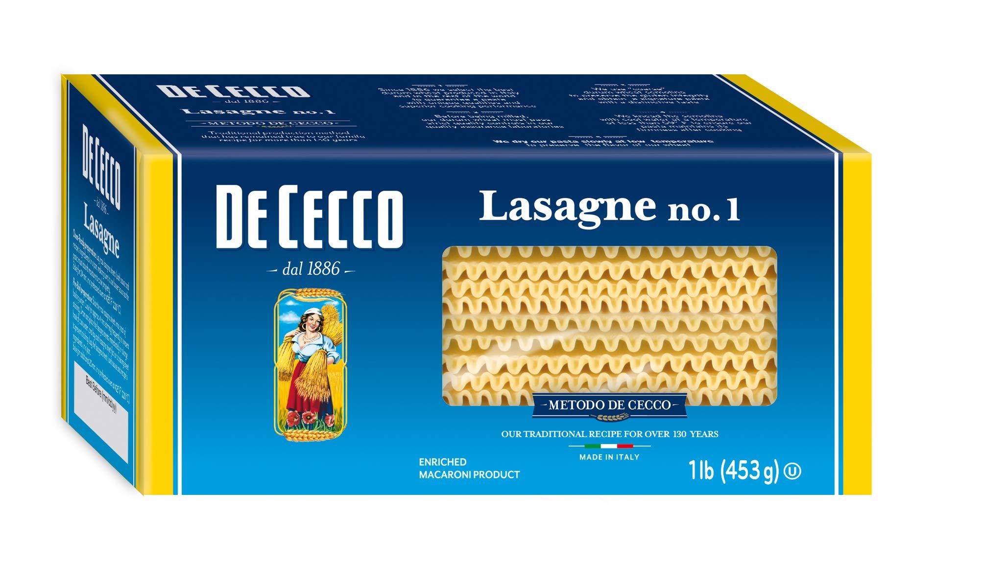 DeCecco Specialty Pasta, Lasagna Larga, 16 oz