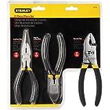 Stanley STA084114 - Juego de tenazas y alicates
