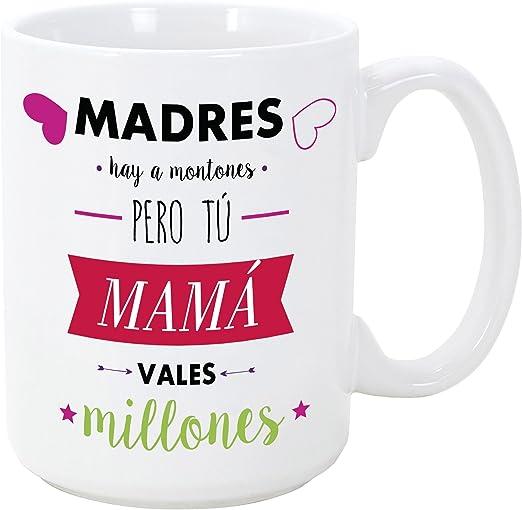 MUGFFINS Taza para Regalar a Madres - Madres Hay a Montones Pero ...