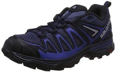 Salomon Damen X Ultra 3 Prime W Traillaufschuhe, grau, 43 EU