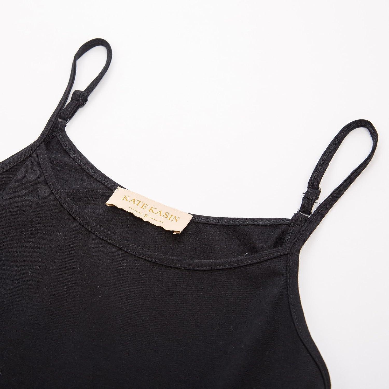Kate Kasin Womens Underdress Adjustable Strap Full Slip Petticoat K1099