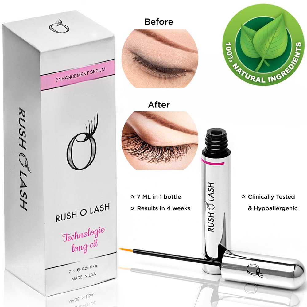 Rush O Lash eyelash growth enhancement serum and eyebrow enhancer 7ml