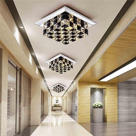 HOME-Cristal LED luces de techo del pasillo de entrada ...