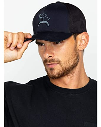 58e8a544c HOOey Men's Solid Logo Golf Moasic Cap at Amazon Men's Clothing store: