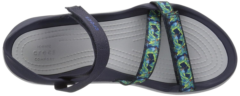 Mr.   Ms. Crocs Woman Swiftwater Webbing Sandal Sandal Sandal nero Molte varietà Produzione specializzata Scarpe da marea popolari | Lascia che i nostri beni escano nel mondo  9c6ea9