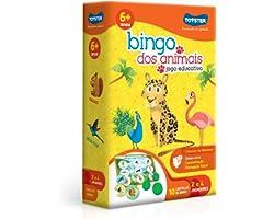 Bingo dos Animais, Toyster, Com 10 Cartelas