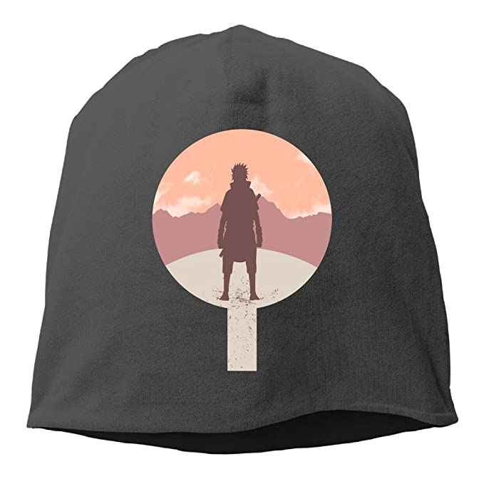 Crest Of Revenge Naruto Uchiha Symbol Beanies Cap Black Amazon