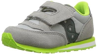 the best attitude f7123 3427f Saucony Boys  Baby Jazz HL Sneaker, Grey Dark Green, 10.5 Medium US
