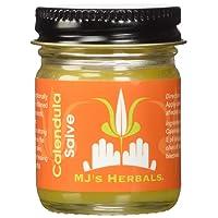 MJ's Herbals Calendula Salve 1 Ounce Concentrate: Sensitive Skin Treatment, Organic...