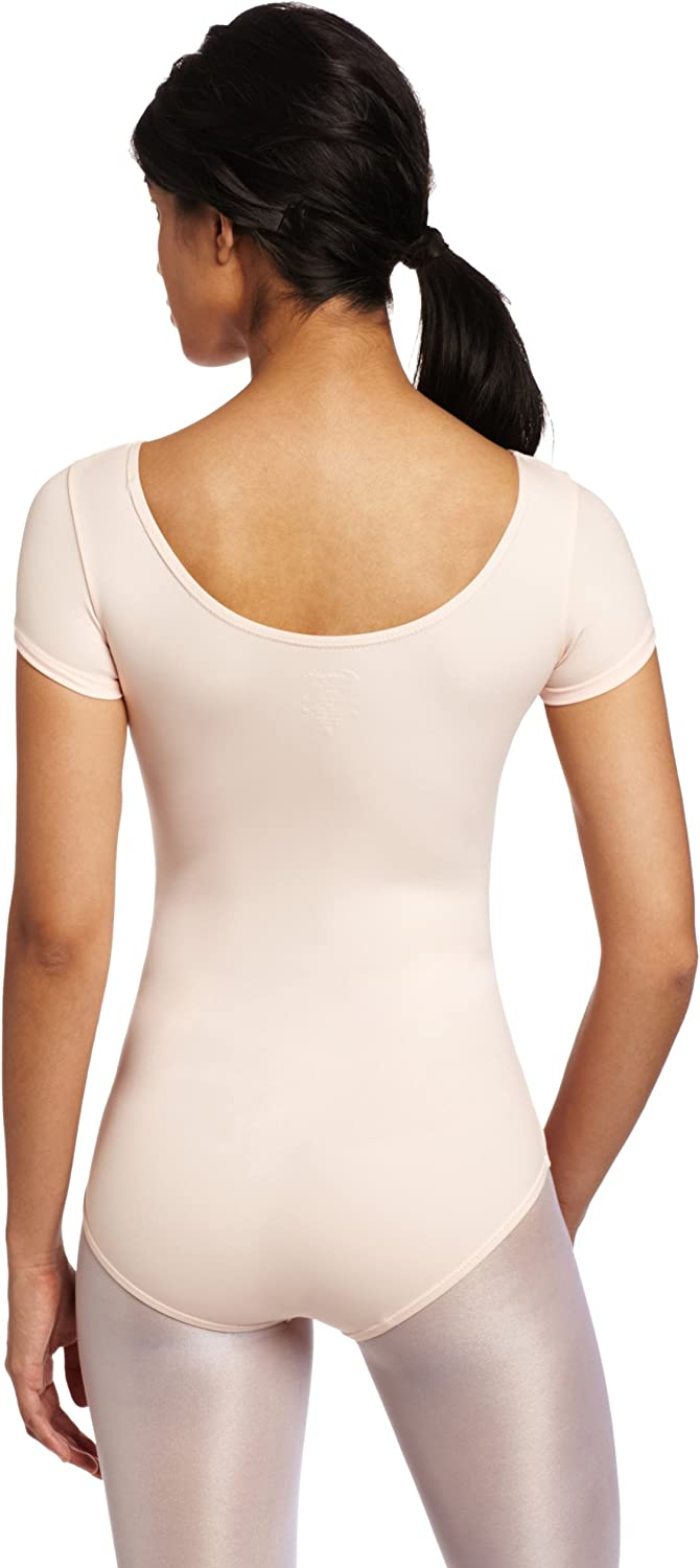 Capezio Women's Team Basic Short Sleeve Leotard: Clothing