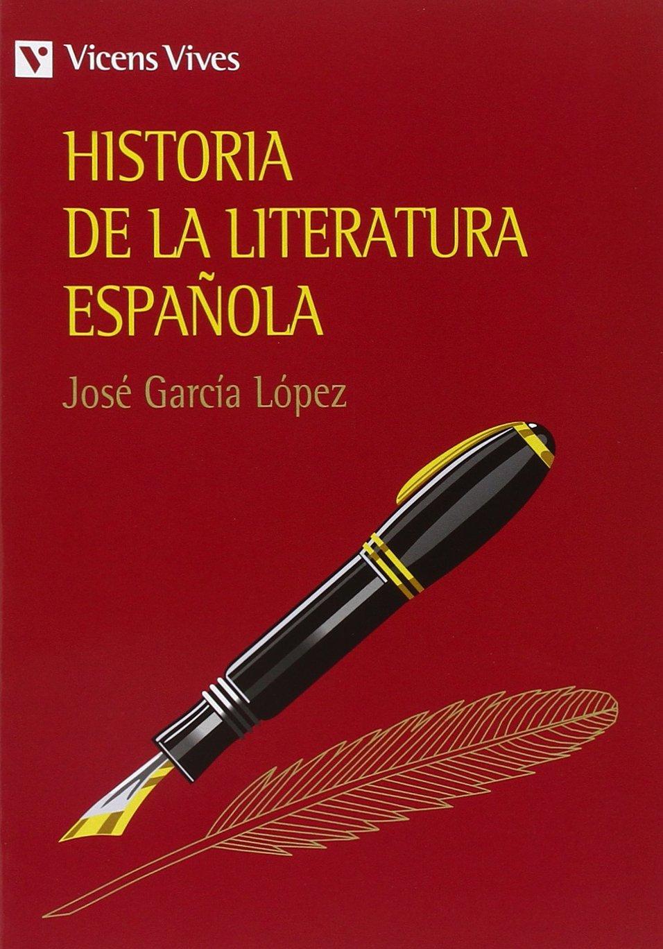 Historia De La Literatura Espa–ola.: Amazon.es: García López, José ...
