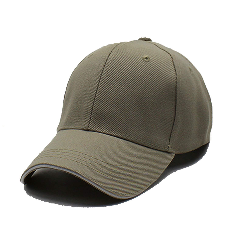 FUZE Men Baseball Cap Women Snapback Caps Men Solid Gorras Planas Baseball Caps Beige at Amazon Womens Clothing store: