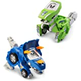 VTech Switch & Go Dinos Animated Dinos 2-Pack with Sliver and Horns