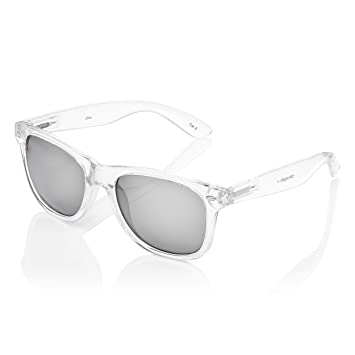 Amazon.com: Ultra Adultos Clear Frame Classic Retro Gafas de ...