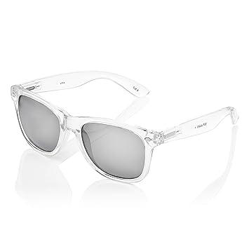 Amazon.com: Ultra Adultos Clear Frame Classic Retro Gafas de ...
