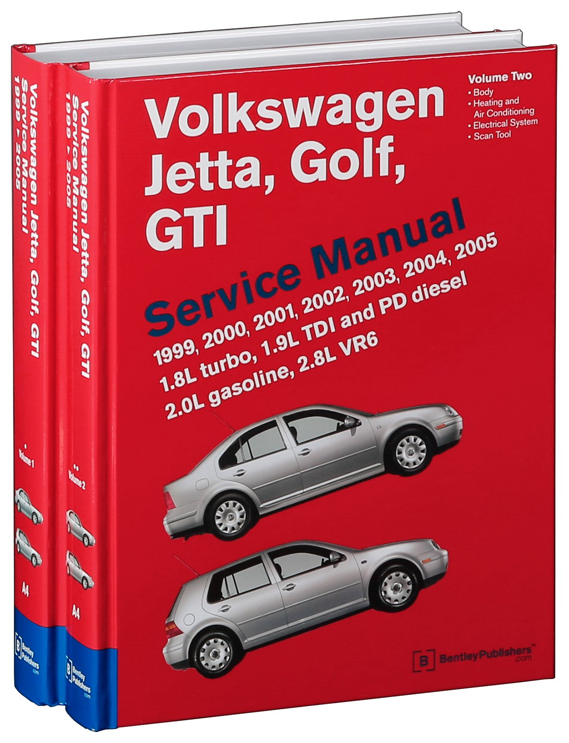 Volkswagen Jetta Golf Gti A4 Service Manual 1999 2000 2001 2002 1 8l Engine Diagram 2003 2004 2005 18l Turbo 19l Tdi Diesel Pd 20l Gasoline