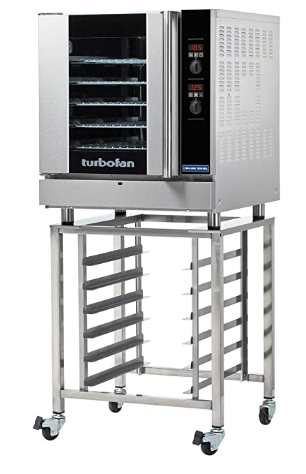 "Moffat E32D5-SK32 - 29"" Turbofan Electric Convection Oven With Stand - 5 Full"