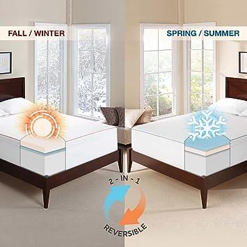 "novaform 3 seasonal memory foam mattress topper Amazon.com: Novaform 3"" Seasonal Memory Foam Mattress Topper  novaform 3 seasonal memory foam mattress topper"