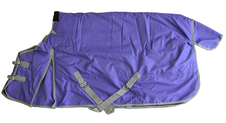 Purple 80\ Purple 80\ AJ Tack Wholesale 1200D Horse Turnout Blanket Heavy Weight Water Proof 400g Fill Purple