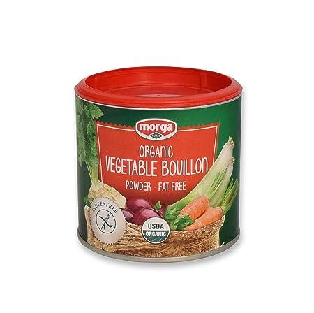 Morga  USDA-ORGANIC  - Vegetable Bouillon Powder • (5.3oz/150g) • [Vegan   Vegetarian   Bullion  ...
