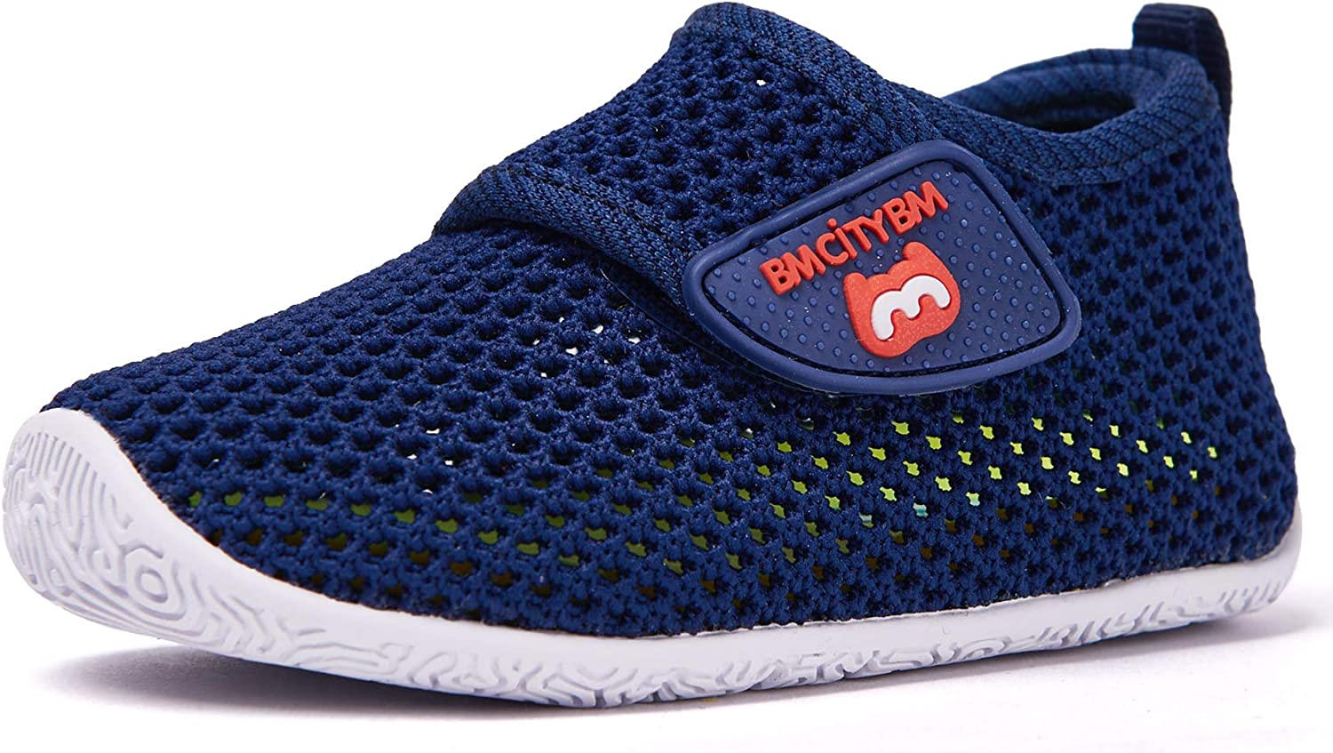 Kids Boy Girl Knitted Soft Shoes Toddler Sneakers Slip On Sports Trainers Shoes