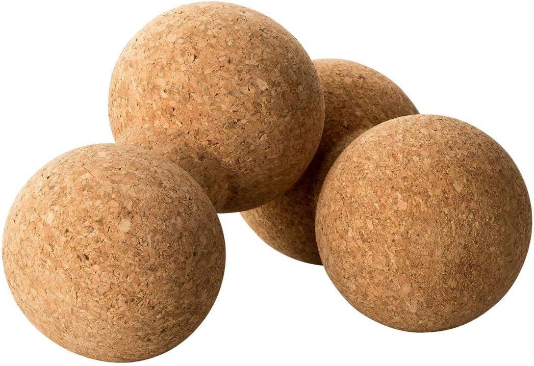 100/% Kork aus Portugal Verspannungen l/ösen Triggerball Duoball aus KorkPeanut Faszienkugel Behandlung von Schmerzpunkten Doppelball Massageball f/ür Wirbels/äule /& Faszien Duoball