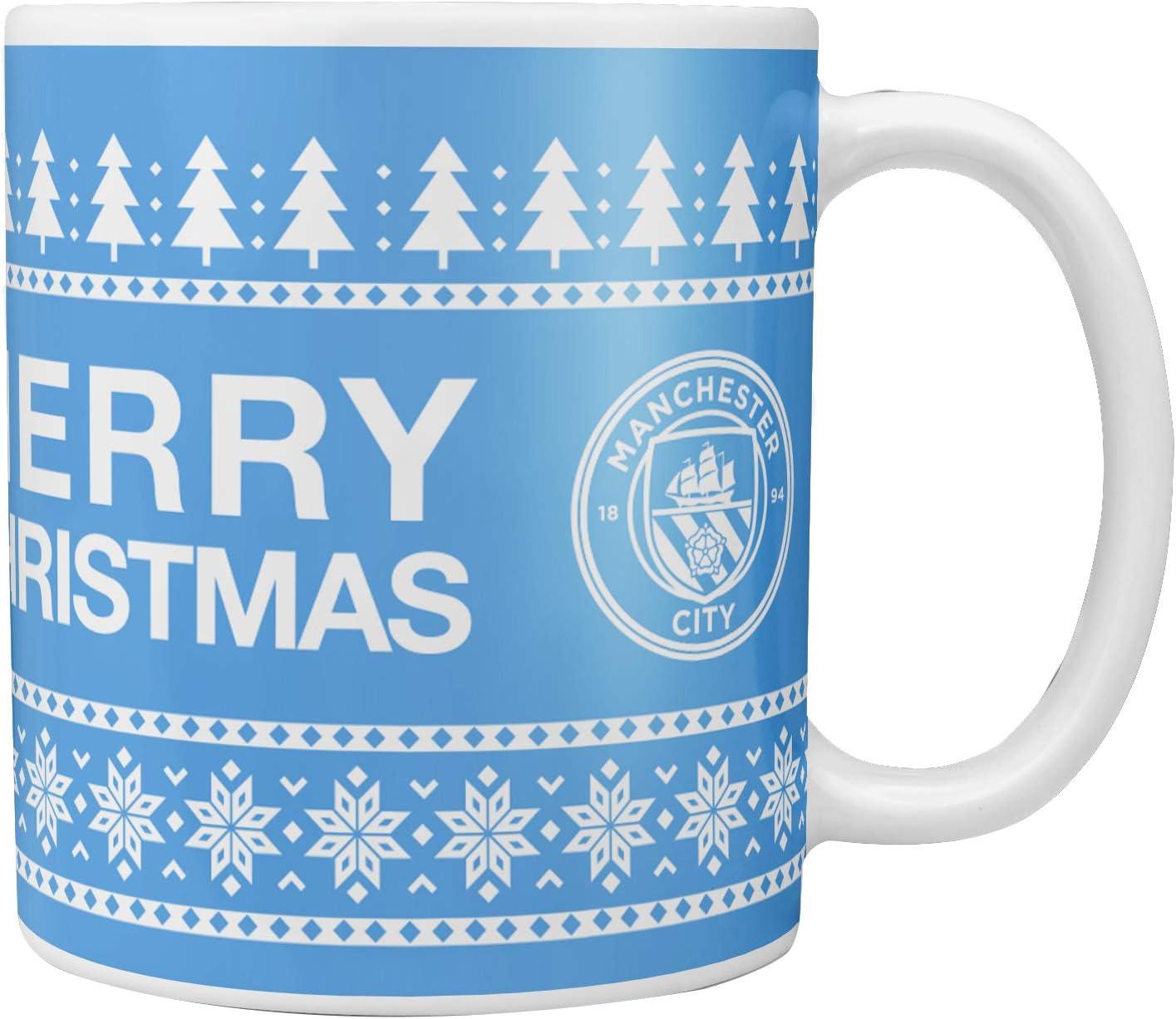 Ceramic 9oz CHRISTMAS MUG Official Football Club Xmas//Gift//Santa
