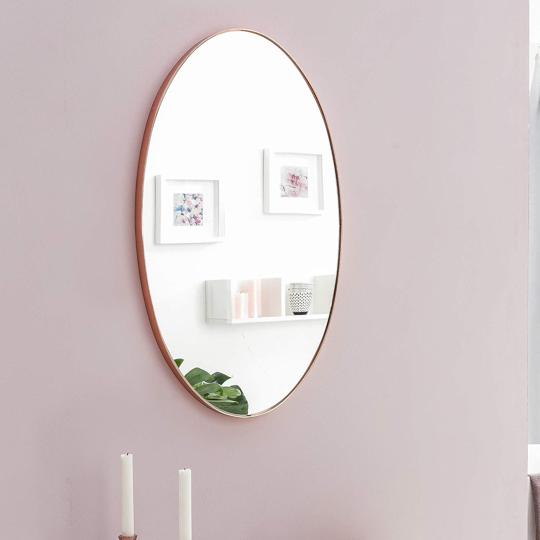FineBuy Wandspiegel 45 x 80 x 4 cm Spiegel Wand Rahmen Flurspiegel modern groß