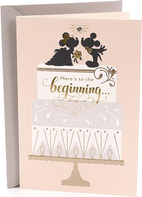 Amazon.com: Hallmark – Tarjeta de felicitación de boda ...