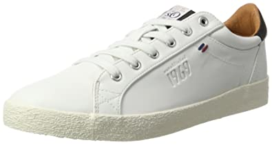 13604, Sneakers Basses Homme, Blanc (White), 45 EUs.Oliver