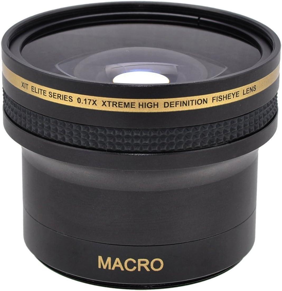 LCD Camera Screen Protector Mini Tripod Ultrapro 62mm 0.17x Super Wide HD Fisheye Lens for Select Pentax Digital Cameras Bundle Includes Cleaning Kit