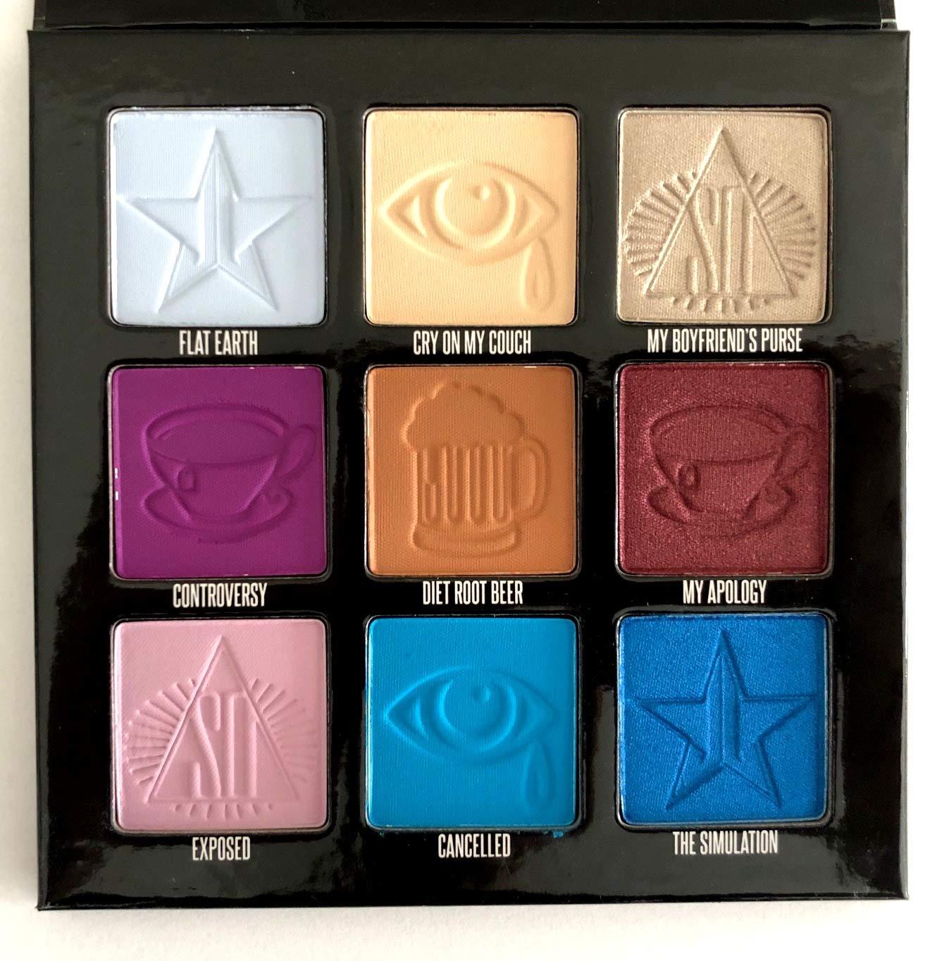 Jeffree Star x Shane Dawson Mini Controversy Palette