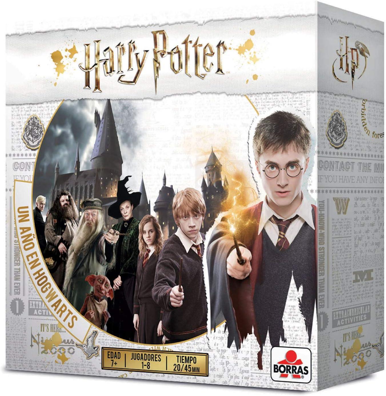 Borras Mesa Harry Potter, un año en Hogwarts, 4 Modos de Juego ...