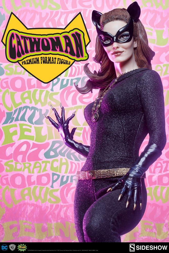 Batman 1966 Estatua Catwoman Sideshow Exclusive (Premium Format 1/4) Sideshow