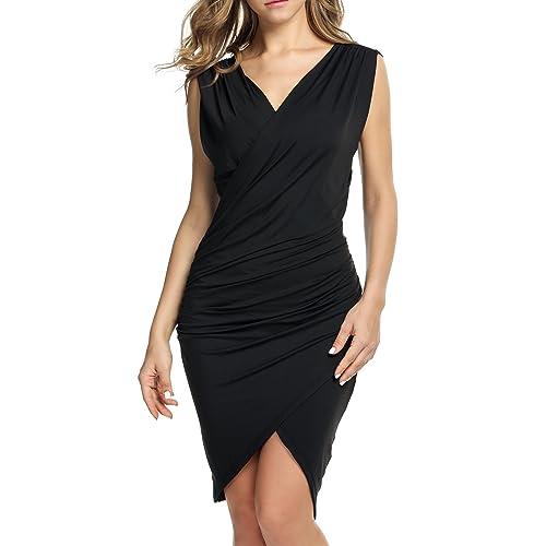 Womens Black Semi Formal Dresses Amazon