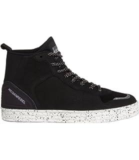 a3fd9c32835dd Hogan Rebel scarpe sneakers alte uomo in camoscio nuove r141 basket grigio  EU 43.5 HXM1410R283DWH0XD2 · EUR 245
